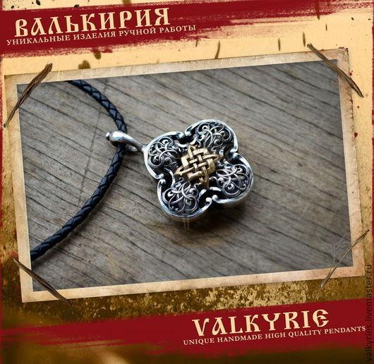 Кулоны и подвески ручной работы  из серебра 925 пробы.Подвеска звезда Руси. Мастерская Валькирия.
