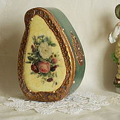 """Для дома и интерьера ручной работы. Ярмарка Мастеров - ручная работа Коробка для чая """" Букет"""". Handmade."""