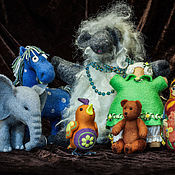 Куклы и игрушки ручной работы. Ярмарка Мастеров - ручная работа Уютные шерстяные игрушки. Handmade.