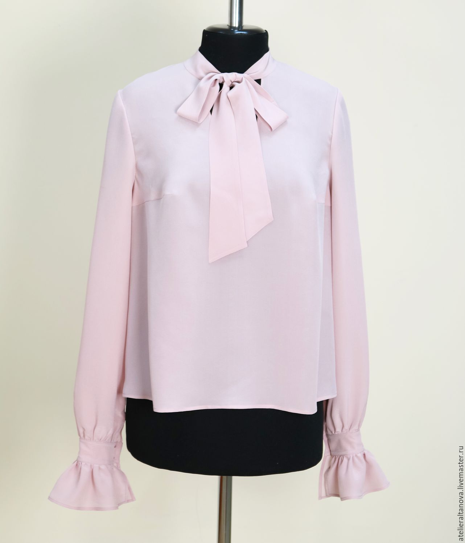 Блузки Из Натурального Шелка Купить
