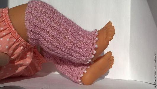 Для новорожденных, ручной работы. Ярмарка Мастеров - ручная работа. Купить Гетры для новорожденных, для фотосессий 0-3мес, носочки пинетки теплые. Handmade.