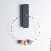 Украшения ручной работы. Ярмарка Мастеров - ручная работа Колье с деревянными бусинами. Handmade.