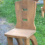 Для дома и интерьера handmade. Livemaster - original item Chair wood solid cedar Medieval. Handmade.