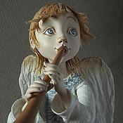 """Куклы и игрушки ручной работы. Ярмарка Мастеров - ручная работа """"АНГЕЛ-ПАСТУШОК"""". Handmade."""