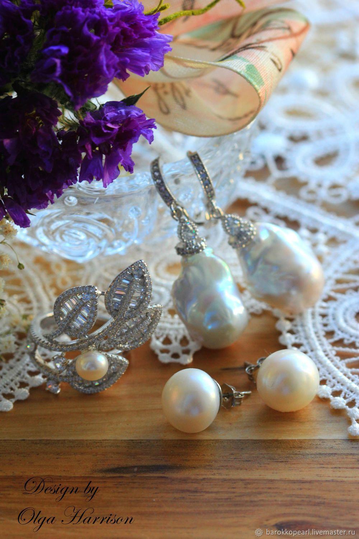 Новогодние подарки2020!.Авторский комплект из серебра, Комплекты украшений, Майами,  Фото №1