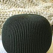 Basket handmade. Livemaster - original item Ottoman. Handmade.
