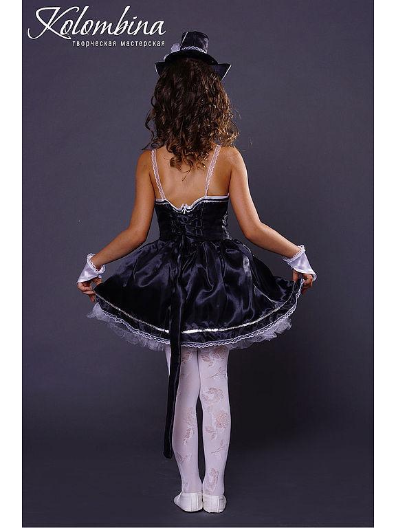 Купить карнавальный костюм кошки чёрный - черный, костюм ... - photo#40
