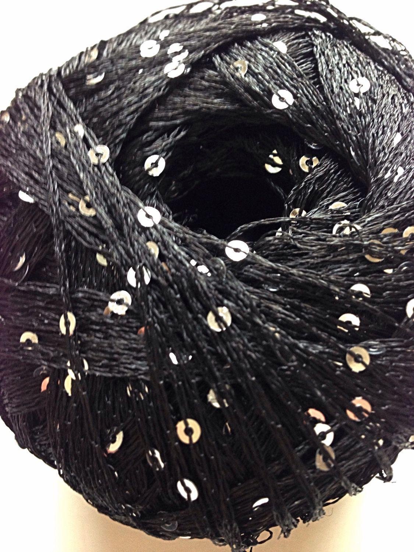 схемы вязание с пряжи с паетками