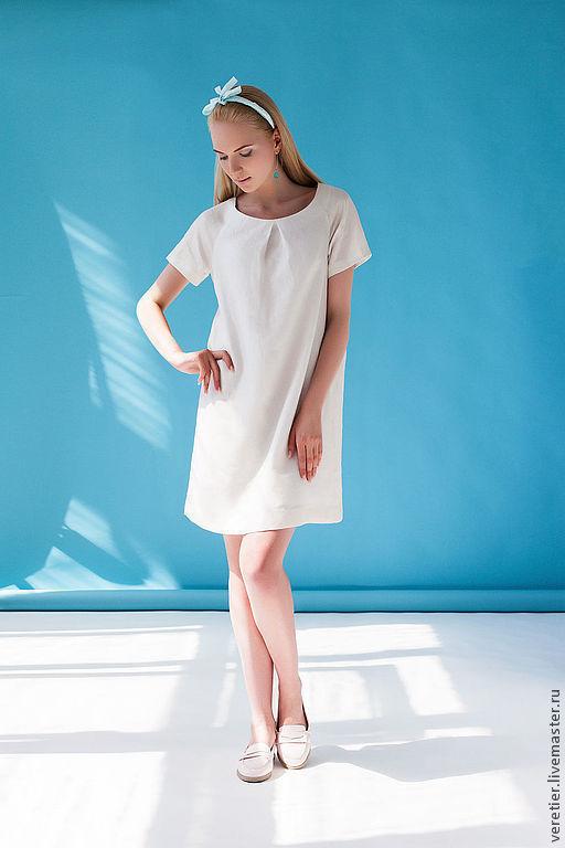 Платья ручной работы. Ярмарка Мастеров - ручная работа. Купить Платье WHITE. Handmade. Белый, платье, стиль, отпуск, пастель