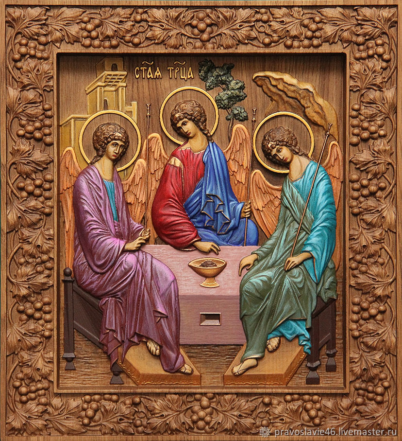 """Икона """"Святая Троица"""", Иконы, Курск,  Фото №1"""
