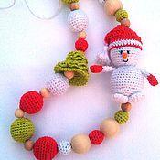 Одежда ручной работы. Ярмарка Мастеров - ручная работа Слингобусы Снеговик. Handmade.