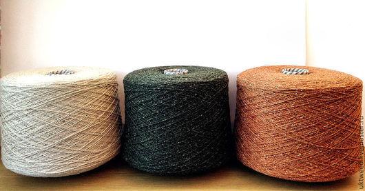 Вязание ручной работы. Ярмарка Мастеров - ручная работа. Купить Самарканд - 75% шерсть, 25% - шелк. Handmade. Оливковый