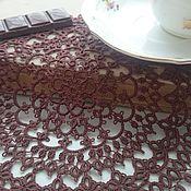 """Для дома и интерьера ручной работы. Ярмарка Мастеров - ручная работа салфетка """"Ароматное утро"""". Handmade."""