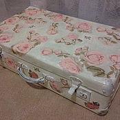 Для дома и интерьера ручной работы. Ярмарка Мастеров - ручная работа чемодан интерьерный. Handmade.