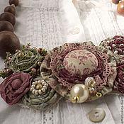 Украшения manualidades. Livemaster - hecho a mano Collar Marenovaya Rosa. Handmade.