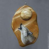 """Украшения ручной работы. Ярмарка Мастеров - ручная работа Кулон """"Волк"""". Handmade."""