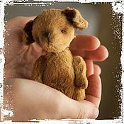 """Куклы и игрушки ручной работы. Ярмарка Мастеров - ручная работа Тедди собака  """"Счастье в ваших руках"""". Handmade."""