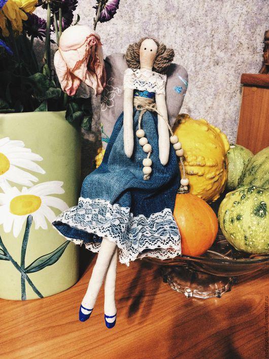 Куклы Тильды ручной работы. Ярмарка Мастеров - ручная работа. Купить Осенний ангел. Handmade. Кукла Тильда, тильда ангел