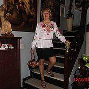 Одежда ручной работы. Ярмарка Мастеров - ручная работа Женская блузка вышивка бисером. Handmade.