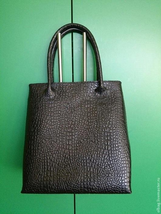 Женские сумки ручной работы. Ярмарка Мастеров - ручная работа. Купить Кожаная сумка. Handmade. Черный, натуральная кожа
