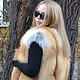 Vest of red Fox Siberian. Solid. Vests. Zimma. My Livemaster. Фото №4