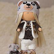 Куклы и игрушки ручной работы. Ярмарка Мастеров - ручная работа Кукла ручной работы: Мишка - Маришка. Handmade.