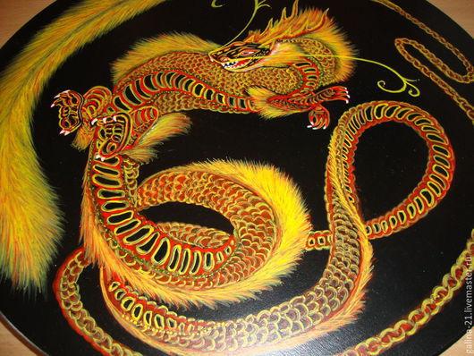 """Мебель ручной работы. Ярмарка Мастеров - ручная работа. Купить Табурет """"Дракон"""". Handmade. Украшение интерьера, дракон"""