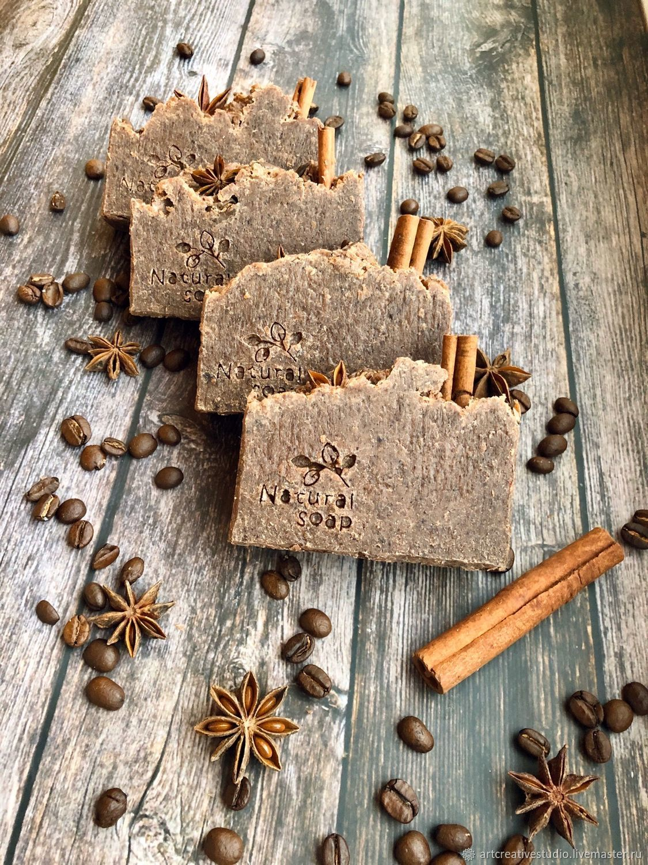 Natural soap scrub handmade ' Chocolate dessert', Soap, Naberezhnye Chelny,  Фото №1