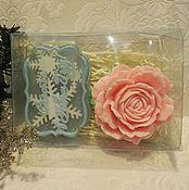Косметика ручной работы. Ярмарка Мастеров - ручная работа набор мыла роза+счастья в новом году. Handmade.