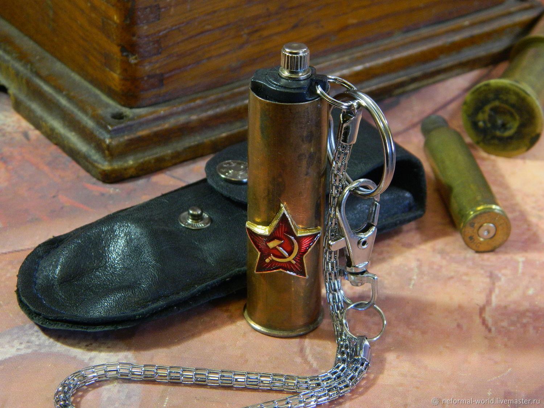 LIGHTER-MATCH PETROL 'SLEEVE', Cigar-lighter, Saratov,  Фото №1