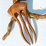 Hairpins handmade. Livemaster - original item Barrette made of wood