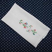 Винтаж handmade. Livemaster - original item Delicate vintage towel. Handmade.