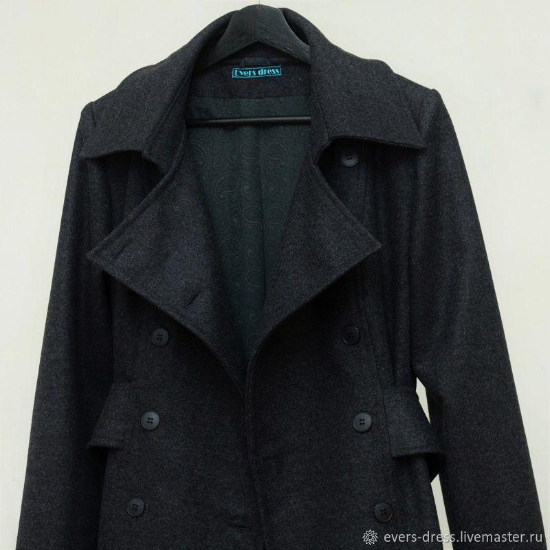Coat trench Redingot, wool, Coats, Ekaterinburg,  Фото №1