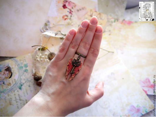 """Кольца ручной работы. Ярмарка Мастеров - ручная работа. Купить Кольцо """"Ключ от ангельского сада"""" арт. 4057. Handmade. Аксессуары"""