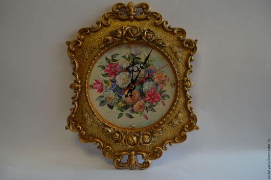 Часы для дома ручной работы. Ярмарка Мастеров - ручная работа. Купить Часы Старинные. Handmade. Комбинированный, для дома и интерьера