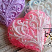 Косметика ручной работы handmade. Livemaster - original item Hearts pink, souvenir soap organic. Handmade.
