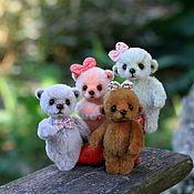Куклы и игрушки ручной работы. Ярмарка Мастеров - ручная работа Мишки-брошки. Handmade.