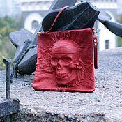 Сумки и аксессуары handmade. Livemaster - original item Red leather bag