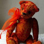 Куклы и игрушки ручной работы. Ярмарка Мастеров - ручная работа Рождественский мишка. Handmade.
