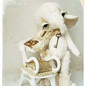 Куклы и игрушки ручной работы. Ярмарка Мастеров - ручная работа Слоник Мона. Handmade.