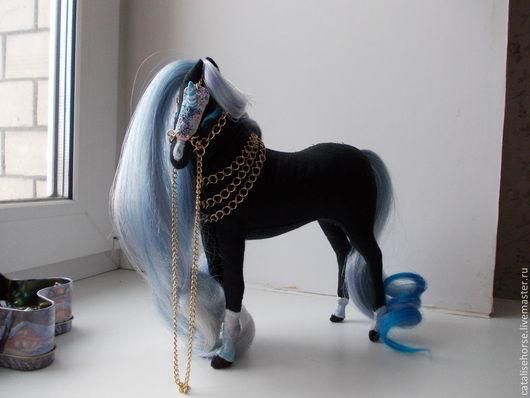 Игрушки животные, ручной работы. Ярмарка Мастеров - ручная работа. Купить Текстильная лошадь- красавица Андромеда.. Handmade. Разноцветный