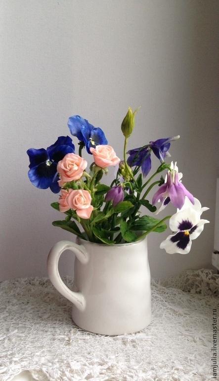 Цветы ручной работы.  Юлия Пащенко