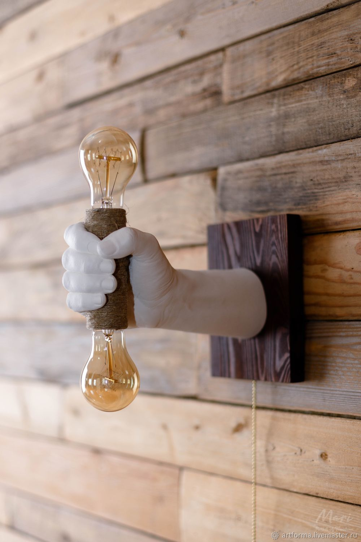 Mars wall lamp, Sconce, Stavropol,  Фото №1