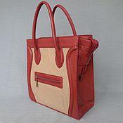 Классическая сумка ручной работы. Ярмарка Мастеров - ручная работа Сумка кожаная.Ручная работа. Handmade.
