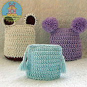 Подарки к праздникам ручной работы. Ярмарка Мастеров - ручная работа шапочки - грелки для пасхальных яиц. Handmade.