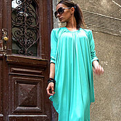 Одежда ручной работы. Ярмарка Мастеров - ручная работа Платье Mint. Handmade.