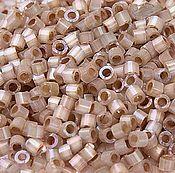 Материалы для творчества handmade. Livemaster - original item 5 grams Delica 11/0 DB680 Dyed Smoky Quartz, Japanese glass seed beads Miyuki Delica. Handmade.
