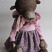 Куклы и игрушки ручной работы. Ярмарка Мастеров - ручная работа Мишка Ульяна большая интерьерная. Handmade.