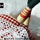 Коллекционные куклы ручной работы. Пеппи. Чулкова Юлия (yulix1). Ярмарка Мастеров. Рыжий, 100% хлопок