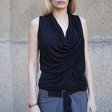 Одежда ручной работы. Ярмарка Мастеров - ручная работа Легкая блузка/Летняя одежда/F1680. Handmade.